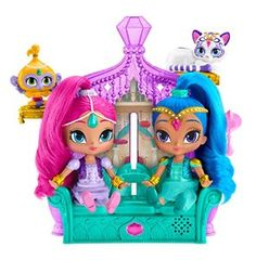 Amazon.com: Fisher-Price Shimmer and Shine Float & Sing Palace Friends: Toys & Games