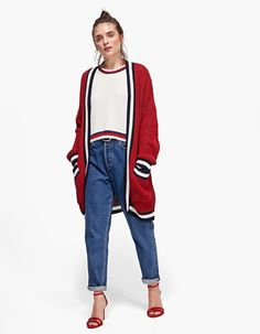 At Stradivarius you'll find 1 Sporty cardigan for just 139.9 Romania . Visit now to discover this and more Be My Valentine.