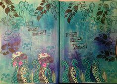 Journal, Painting, Art, Art Background, Painting Art, Kunst, Paintings, Gcse Art, Journals