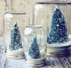 Simple DIY Christmas Gift Ideas - Snow Globes - Click pic for 25 Handmade Christmas Gift Ideas