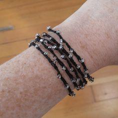 Crochet Beaded Bracelet - Think Crafts by CreateForLess