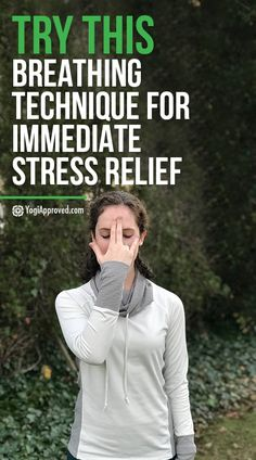 Sometimes we simply can't avoid stress - especially during the holidays. Practice Nadi Shodhana with this tutorial for immediate stress relief.