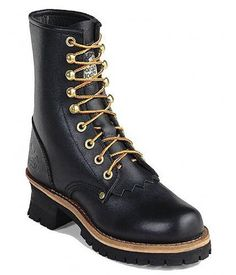 "Georgia Boot Women's G3290 8"" Logger Work Boots Georgia. $112.99"