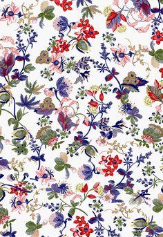 Traditional Pattern,Floral Design,Prints,Animal,Flowers,花型,印花图案 - FA_4j8a5v4