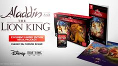 Two of Disney's most cherished games from the make their highly anticipated return today in Disney Classic Games: Aladdin and The Lion King. The enchanting Aladdin, Lion King Game, Playstation, Nintendo Switch Case, Disney Games, Le Roi Lion, New Avengers, Walt Disney Studios, Disney Addict
