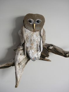 2820SM | Close-up of the Driftwood Owl. | Vincent Richel | Flickr