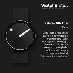 """Descoperă #Picto, brand-ul ce s-a opus consumerismului și expresiilor precum """"timpul înseamnă bani"""" printr-un design minimalist #ShopNow Watch Brands, Smart Watch, Bling, Watches, Accessories, Design, Smartwatch, Wrist Watches, Brand Name Watches"""