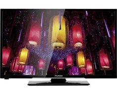 Funai LED-Fernseher 80 cm 32 Zoll 32FDV5755 EEK A DVB-T, DVB-C, DVB-S, HD ready, DVD-Player, CI+ Sch