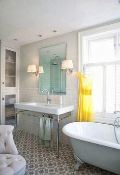 traditionele badkamer tegels