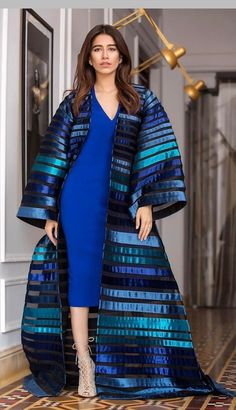 comfy and cute outfits Haute Couture Style, Couture Mode, Couture Fashion, Abaya Fashion, Modest Fashion, Fashion Dresses, Fashion Fashion, Iranian Women Fashion, African Fashion