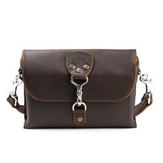 Saddleback Leather Clutch Purse Medium Dark Coffee Brown ...