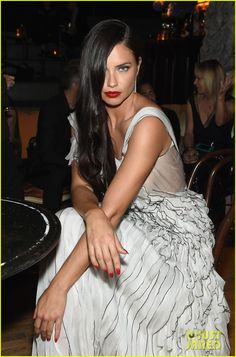 Adriana Lima Makes Magic Happen at Marc Jacobs Decadence Party