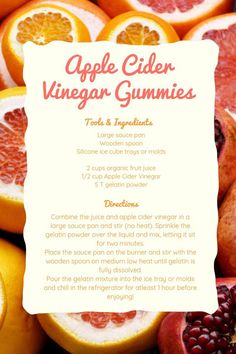 Apple Cider Vinegar Gummies - Home is for Making - ImPane Natural Sleep Remedies, Cold Home Remedies, Natural Cures, Natural Health, Natural Skin, Apple Vinegar, Organic Apple Cider Vinegar, Graham, Bacon