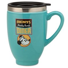 Disney Mickey Mouse - Mickey's Diner Travel Mug Disney