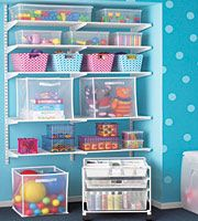 {the container store} Love this toy organizing