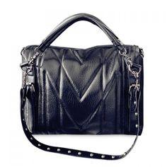 $27.29 Sweet Bear Pendant and Rivets Design Women's Crossbody Bag