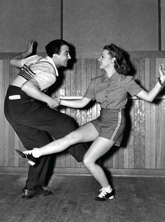 50's dance style, I love to dance and I love the 50's!