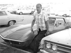 Astronaut Edwin Buzz Aldrin Corvette Stingray