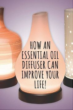 How an essential oil diffuser can improve your life