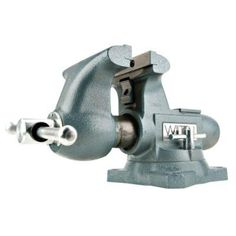 """Wilton Bench Vise 1780, 8"""" Tradesman  Proudly made in the USA, the Tradesman round channel vise is designed to handle the most demanding clamping applications. Unlike most vises that have a fixed center nut the Tradesman round channel vise nut is anchored at the rear. This rear anchored nut provides straight line pull and even pressure resulting in greater durability."""