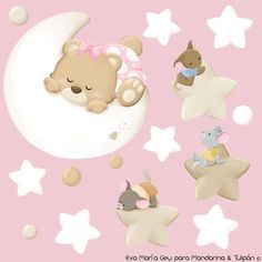 Decoupage, Teddy Bear Images, Baby Girl Scrapbook, Welcome Baby Girls, Baby Posters, Pet Boutique, Felt Christmas Ornaments, Scrapbook Templates, Baby Decor
