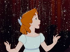 Wendy Darling (Peter Pan) (c) 1953 Walt Disney Animation Studios Disney Pixar, Walt Disney, Disney Gifs, Animation Disney, Disney Songs, Disney Memes, Disney Quotes, Cute Disney, Disney Art
