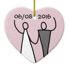 Hang Wedding ornaments from Zazzle on your tree this holiday season. Start a new holiday tradition with thousands of festive designs to choose from. Wedding Christmas Ornaments, Wedding Ornament, Create Your Own, Seasons, Cartoon, Holiday, Design, Products, Vacations