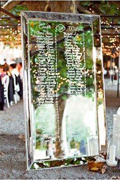 Mirror Wedding Decoration Ideas (BridesMagazine.co.uk) (BridesMagazine.co.uk)
