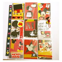 Mickey Mouse Love ❤️ #pocketletters  by Vero Z.