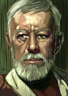 Old Obi Wan by RodReis on DeviantArt