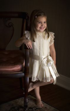 "Carol Harris: ""Maggie Katie"" Exquisite Portrait Dress--Lovely!"