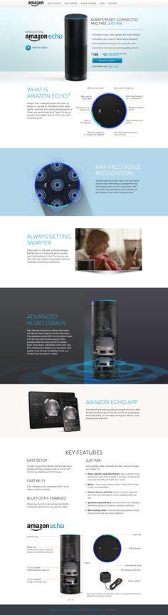 Amazon Echo Webdesing