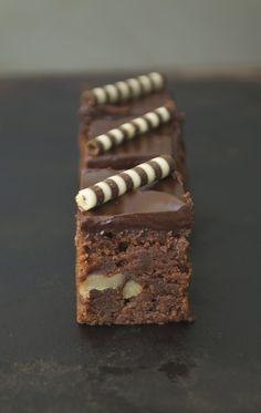 Chocolate truffle brownies