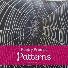 Poetry is a type of writing that's defined by patterns. Whether it's the number of lines in a stanza or the beats of rhythm and rhyme in a line, you'll find patterns everywhere in every poem you read. So for today's poetry prompt, we'll be diving into patterns and using them to inspire our writing! Best Rhymes, Write A Haiku, Rhyming Dictionary, Rhyming Poems, Poetry Prompts, Alliteration, Poetry Books, Book Characters, Oprah