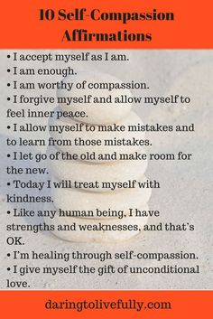 One of the kindest things you can do for yourself is show yourself self-compassion. Get started with these self-compassion affirmations.