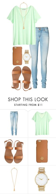 """family brunch"" by alexisfloyd ❤ liked on Polyvore featuring Vero Moda, H&M, Ancient Greek Sandals, Tory Burch and ASOS"