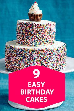 Impress your guests with our creative candy decorations -- all completely doable in less than 30 minutes! #cakerecipes #birthdaycake #birthdaypartyinspiration