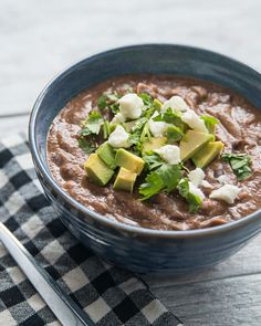 Healthy & Hearty Black Bean Soup