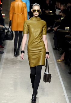 Leather Fashion Trends for Fall/ Winter 2011/ 2012 Picture
