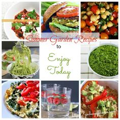 Summer Garden Recipe Collection: What to Cook Now
