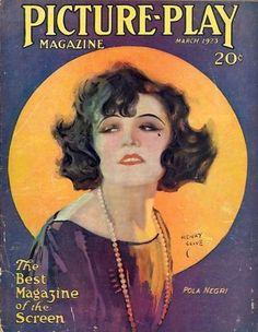 Pola Negri, Henry Clive, Picture Play March 1923
