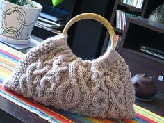 Сумка аранами - Модное вязание