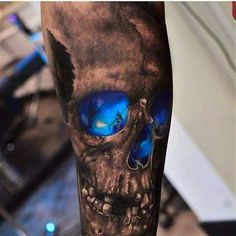 weird creepy tattoo