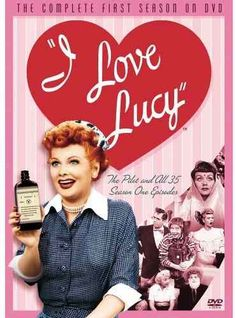 """I Love Lucy"" was the #1 show on television and made Lucille Ball the queen of comedy.  The show ran from 1951-1957."