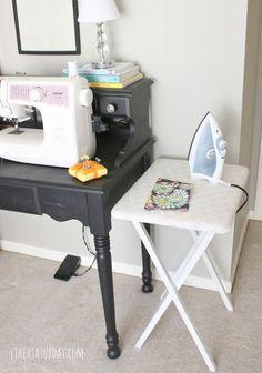 DIY Craft Ironing Table
