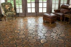 Logs And Twigs Flooring