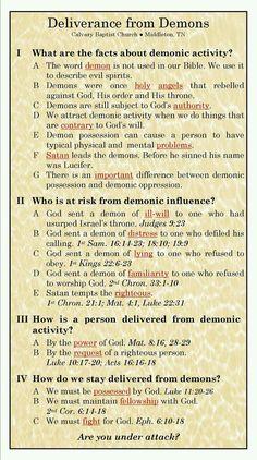 deliverance from demons prayer - Yahoo Image Search Results Bible Study Notebook, Bible Study Tools, Scripture Study, Bible Scriptures, Bible Quotes, Bible Doctrine, Beautiful Words, Spiritual Warfare Prayers, Spiritual Growth