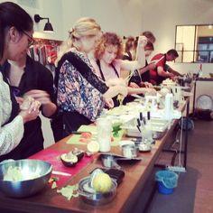 Workshop Lekkerraw // Raw cooking @ SLA Zuidas