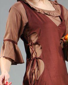 Amah Peasant Gown - medieval renaissance dress costume