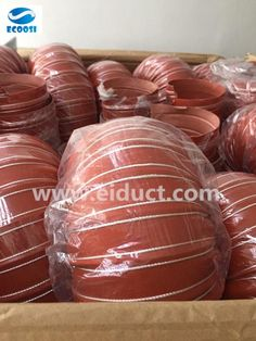 silicone flexible air ducting hose